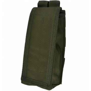 Mil-Tec Single AK47 Magazine Pouch - Olive