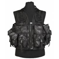Mil-Tec Ultimate Assault Vest - Mandra Night