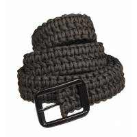 Mil-Tec Paracord Belt - Black