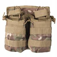 Mil-Tec Open Top Magazine Pouch Double - Multicam