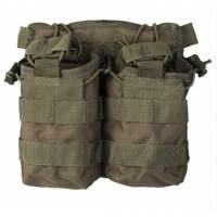 Mil-Tec Open Top Magazine Pouch Double - Olive