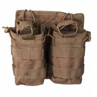 Mil-Tec Open Top Magazine Pouch Double - Coyote