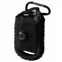 Mil-Tec Paracord Survival Kit Large - Black