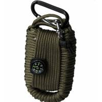 Mil-Tec Paracord Survival Kit Small - Black