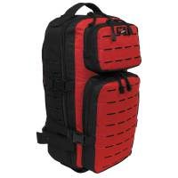 MFH Assault Travel Backpack - Black / Red