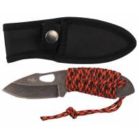 MFH Knife (Redrope) Small Stonew - Paracord Wrap Handle