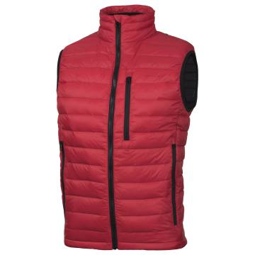 Pentagon Hector Duck Down Vest - Red
