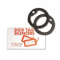 Mil-Tec US Dog Tag Silencer - Black