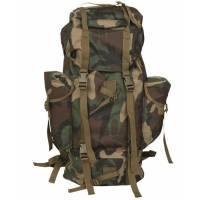 Mil-Tec Large Rucksack 65 Ltr - Woodland