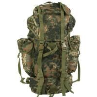 Mil-Tec Large Rucksack 65 Ltr - Flecktarn