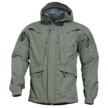 Pentagon Monsoon 2.0 Rain Shell Jacket - Grindle Green