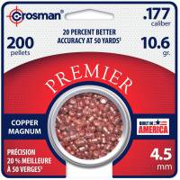 Crosman Copper Magnum 4,5mm Pellets - 200pcs