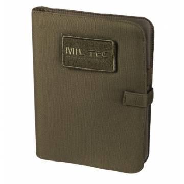 Mil-Tec Tactical Notebook Medium - Olive