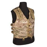 Mil-Tec Laser Cut Vest Lightweight - Multicam