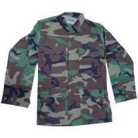 Woodland Camo Uniform Set (Ripstop)