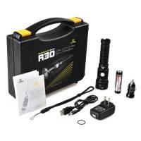 Xtar R30 Φακός Επαναφορτιζόμενος Full Set - 1000 Lumens