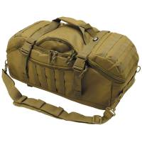 MFH Travel 48L Backpack Bag - Coyote Tan