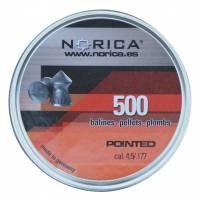 Norica Pointed H&N 4,5mm Pellets - 250pcs