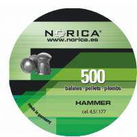 Norica Hammer 4,5mm Pellets - 500pcs