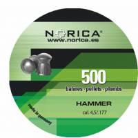 Norica Hammer 4,5mm Pellets - 500pcs