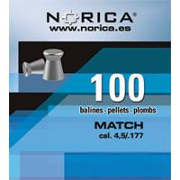 Norica Match 5,5mm Pellets - 100pcs