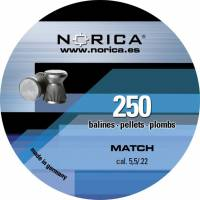 Norica Match 5,5mm Pellets - 250pcs