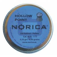Norica Hollow Point 5,5mm Pellets - 250pcs
