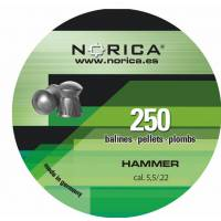 Norica Hammer 5,5mm Pellets - 250pcs
