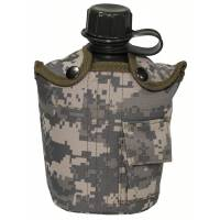 MFH US Canteen 1L w/ Cover - ACU