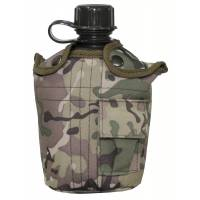 MFH US Canteen 1L w/ Cover - Multicam