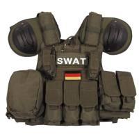 MFH Combat Modular Vest - Olive
