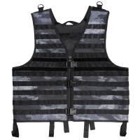 MFH Molle Light Modular Vest - A-Tacs LE