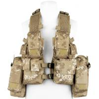 MFH South African Tactical Vest - Vegetata Desert
