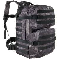 MFH Assault II 40L Backpack - Snake Black