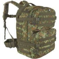 MFH Assault II 40L Backpack - Flecktarn