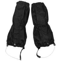 MFH Gaiters w/ Zipper & Wire - Black
