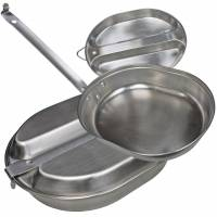 MFH US Mess Kit Stainless Steel
