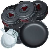 MFH Mess Kit Aluminium Anodized III