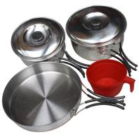 MFH Mess Kit Stainless Steel Small