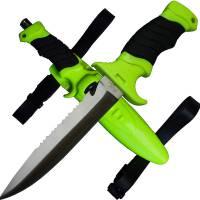 MFH Diving Knife Profi w/ Leg Holster