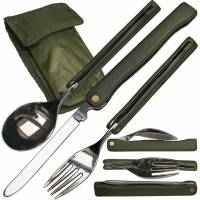MFH Cutlery Set Camping Foldable