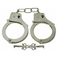 MFH Handcuffs w/ 2 Keys - Chrome