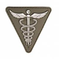Mil-Tec PVC 3D Medical Patch - Olive