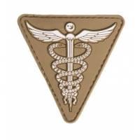Mil-Tec PVC 3D Medical Patch - Dark Coyote