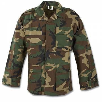 Pentagon BDU Shirt (Rip-stop) Woodland