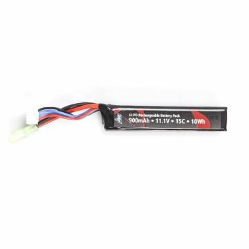 ASG Battery Li-Po 11,1V 900mAh 15C - Short