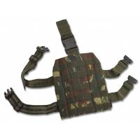 Pentagon Molle Leg Platform (Greek Lizard)