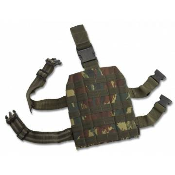 Pentagon Molle Leg Panel - Greek Lizard