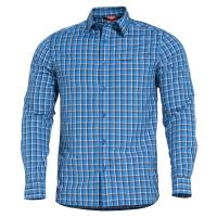 Pentagon Snoop Tactical Long Shirt - Blue Checks
