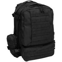MFH IT Tactical Modular 45L Backpack - Black